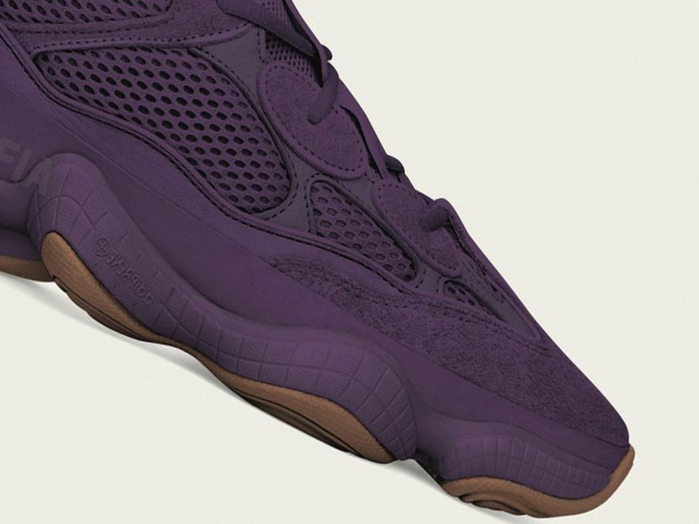 Yeezy 500 Ultraviolet Adidas Colorway Surfaces Sole Premise