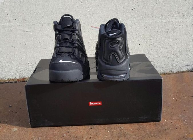 Stay Tuned to the official release date and more pictures of the shoe and  possible other collabs with Supreme.