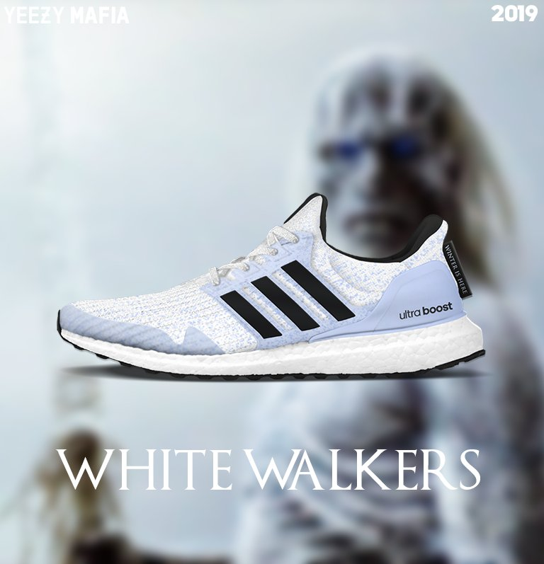 new product 8df25 39207 Adidas Collabs With Hit Show Game of Thrones for Ultraboost Release