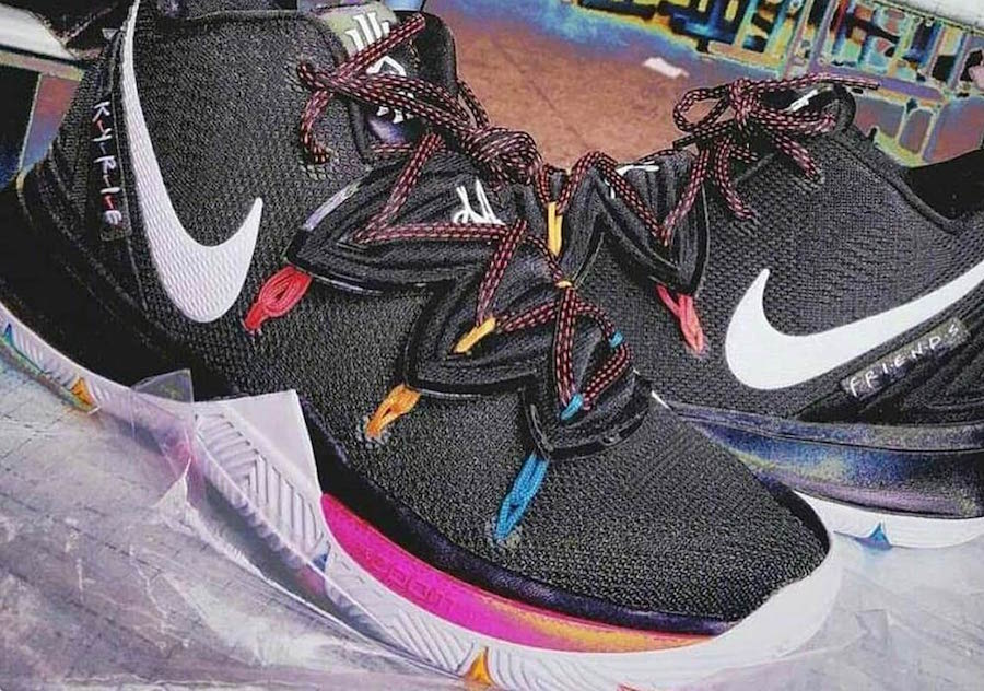 """8c0c5370b879 Kyrie Irving is one of the most creative sneakerheads in the NBA today and a  special-edition Nike Kyrie 5 inspired by the 1990 NBC sitcom """"Friends"""" may  be ..."""