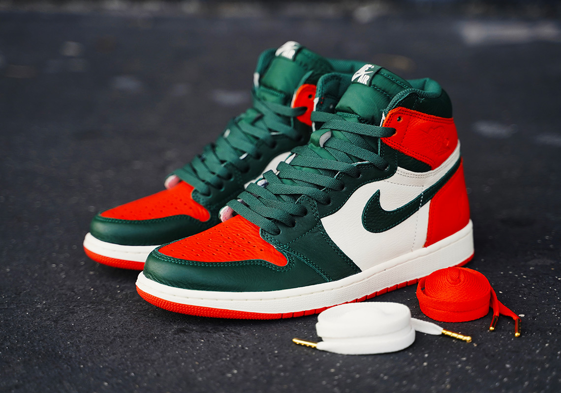 SoleFly's Miami Hurricanes-inspired Air Jordan 1 Collab Possible Wider Release